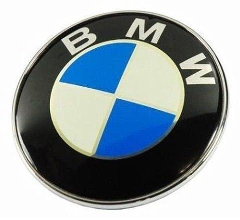 BMW 82mm blau weiß 2 Pins vorne Motorhaube Kofferraum BOOT Trunk Badge Logo Emblem Symbol Abzeichen Plakette Modellnummer 51