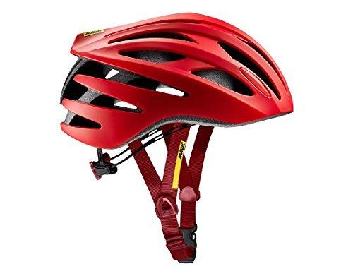 Mavic Aksium Elite Rennrad Fahrrad Helm rot 2017: Größe: M (54-59cm)