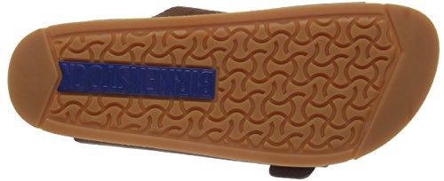 Birkenstock Classic ARIZONA Unisex-Erwachsene Pantoletten Braun (SOFTY BROWN)