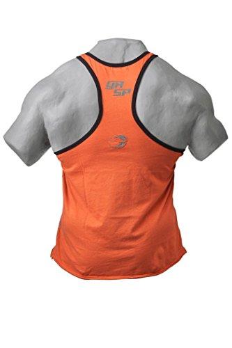 Gasp Vintage T-Back Shirt - Trainings-Shirt - Tank-Top Fitness-Sport Orange