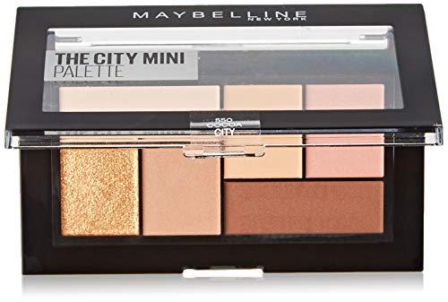 Maybelline New York The City Mini Lidschatten-Palette 550 Cocoa City orange - Mini-make-up-palette