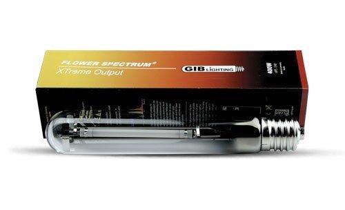 GIB HPS Lampe à Vapeur de Sodium 400 W Xtreme Flower Spectrum