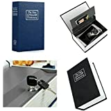 Zyomatiq Dictionary Book Secret Hidden Security Safe, Lock Cash Money Jewellery Locker,Storage Box, Bank Locker/Cheque Box with 2 Keys (Standard,Multicolour)