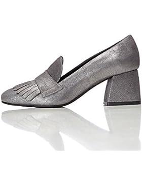 FIND Damen Ari Heeled Geschlossene Sandalen