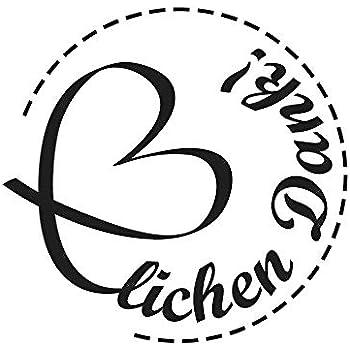 """3cm ø Butterer Stempel /""""Gute Besserung/"""""""