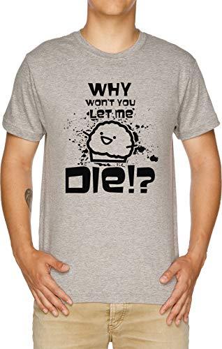Death Muffin D Herren T-Shirt Grau