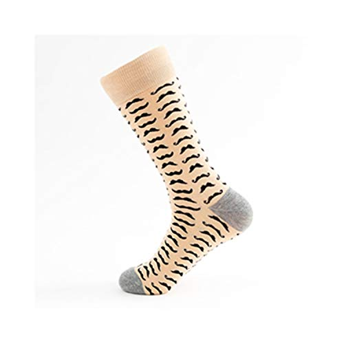 gthytjhv Crew Socken, Kleidersocken Packung, 15 Styles Combed Cotton Men Socks Unisex Women Animal Popular Hip Hop Skateboard Socks Men Novelty Wedding Dress Socks 9 EU39-45 US7-10