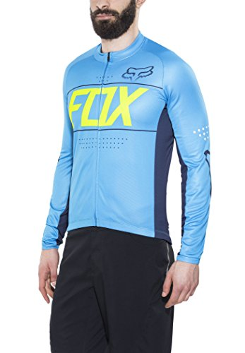 Fox XC-Jersey Ascent Blau Gr. XL (Racing Langarm-trikot Fox)