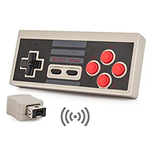 Link-e : Wireless gamepad, controller, joypad mit turbo funktion für Nintendo Mini/Classic NES edition konsole