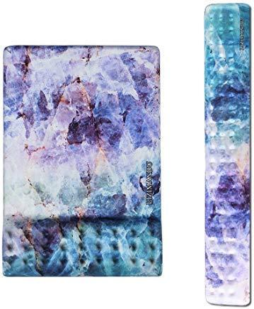 cheliz Tastatur Handgelenk Rest Pad und Maus Handgelenkauflage Maus Pad-langlebig und komfortabel & leicht für einfaches Tippen & Schmerzen relief-ergonomic Unterstützung Stoma kristall - Tastatur-handgelenk-rest-pad