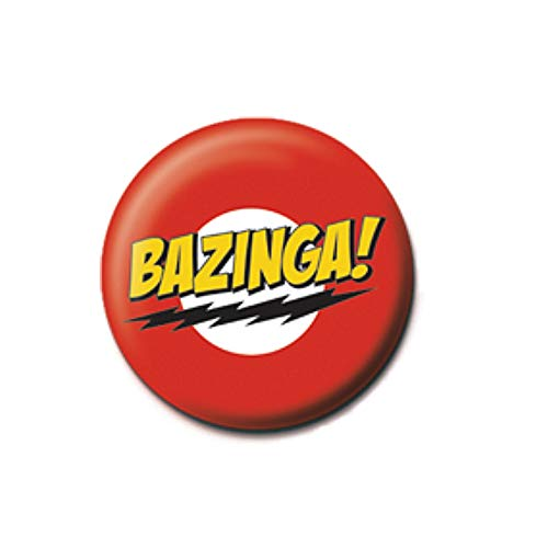 Pritties Accessories Echt The Big Bang Theory Bazinga Taste Abzeichen Stift Warner Bros Sheldon - Bang Theory-stift Big