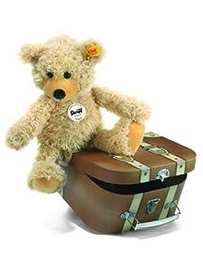 Steiff 12938 - Oso de peluche Charly (30 cm) en maletín importado de Alemania