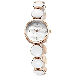 Feoya Damen Uhr Klein Lebens Wasserdicht Armbanduhr Legierung Armband Uhren Casual Quarzuhr Damenuhr mit Uhrenbox Women Wrist Watch (Farbe Wählbar)