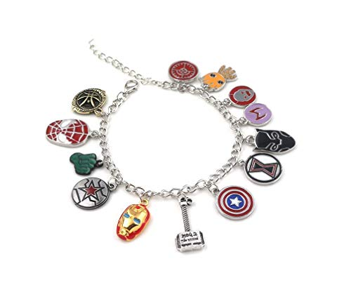 HDCooL Movie Bangle Avengers Bracelet Lady Accessories for Couples Family Best Friends -