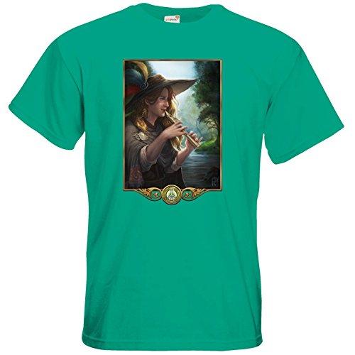getshirts - Das Schwarze Auge - T-Shirt - Götter - Aves Pacific Green