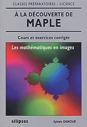 A la découverte de maple : Les mathématiques en images, cours et exercices corrigés