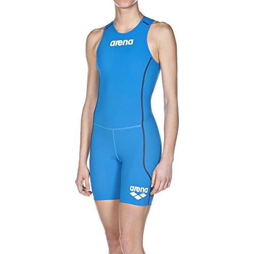 arena Damen Triathlon Einteiler Powerskin ST (Rückenreißverschluss, Schnelltrocknend, Chlorresistent), Brilliant Blue (88), M