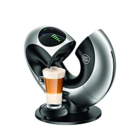 De'Longhi Nescafé Dolce Gusto Eclipse Touch, Single Serve Capsule Coffee Machine, EDG736S, Silver
