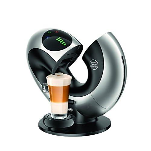 41cBAnOC69L. SS500  - De'Longhi Nescafé Dolce Gusto Eclipse Touch, Single Serve Capsule Coffee Machine, EDG736S, Silver
