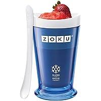 Zoku Slush & Shake Maker Máquina de helados y batidos Azul - Heladora (Máquina de helados y batidos, 1 senos, 8 h, Azul, 101,6 mm, 101,6 mm)