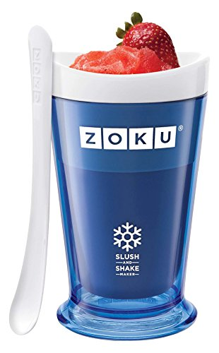 ZOKU Slush & Shake Maker Blue Create velocemente le vostre Granite