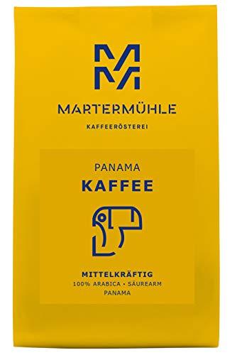 Martermühle | Kaffee Panama 'Boquete' (500g) | Ganze Bohnen | Premium Kaffeebohnen aus Panama | Schonend geröstet | Kaffee säurearm | 100% Arabica