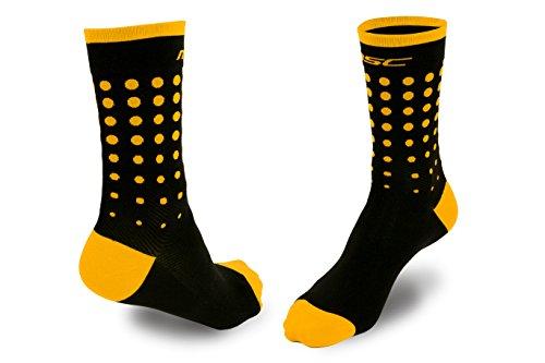 Calcetines ciclismo amarillo unisex