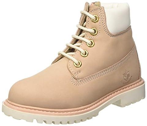 Lumberjack Mädchen River Desert Boots, Rosa (Pink/White), 34 EU
