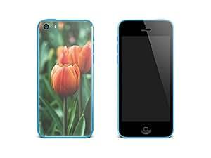 Smartphone/téléphone portable-autocollant pour apple iPhone 5c design tulip/skin film de protection
