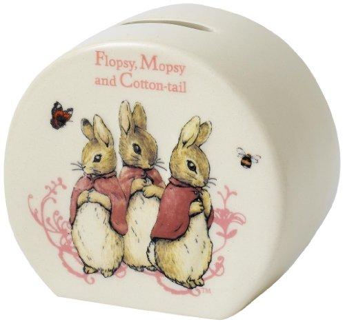 Beatrix Potter Tirelire Motif lapins