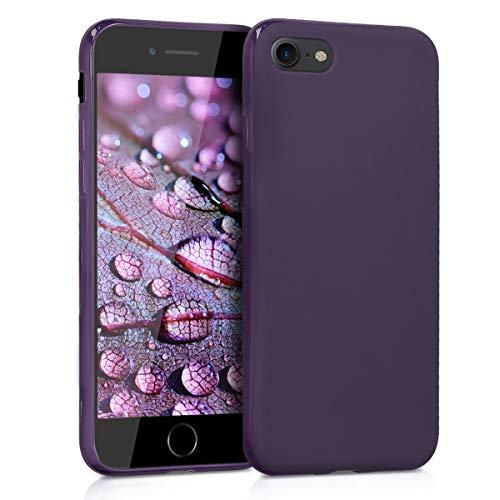 kwmobile Apple iPhone 7/8 Hülle - Handyhülle für Apple iPhone 7/8 - Handy Case in Brombeere matt