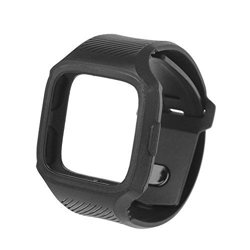 Xuniu Robuste Sport Strap Armband mit Rahmen Schutzhülle ersetzen für Fitbit Versa - 1#