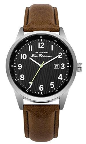 Ben Sherman Reloj Análogo clásico para Hombre de Cuarzo con Correa en PU BS010BBR