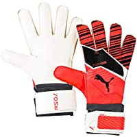 Puma One Grip 4, Guanti Portiere Unisex-Adulto, Nrgy Red Black White, 6