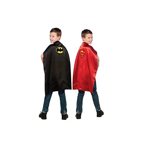 Batman and Superman Reversible Kids (Nylon Cape Reversible)