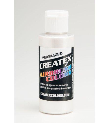 Createx CR5310-60 - Pintura para tejidos y telas, color blanco perla