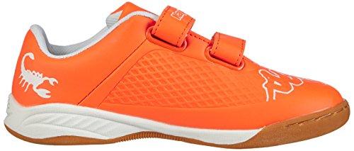 Kappa VYPER Unisex-Kinder Sneakers Orange (4410 orange/white)