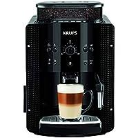 Krups Roma EA8108 - Cafetera súper-automática, 15 bares de presión, molinillo de café cónico de metal, con selección de cantidad e intensidad de café, 1,7 l de depósito, función automática de vapor