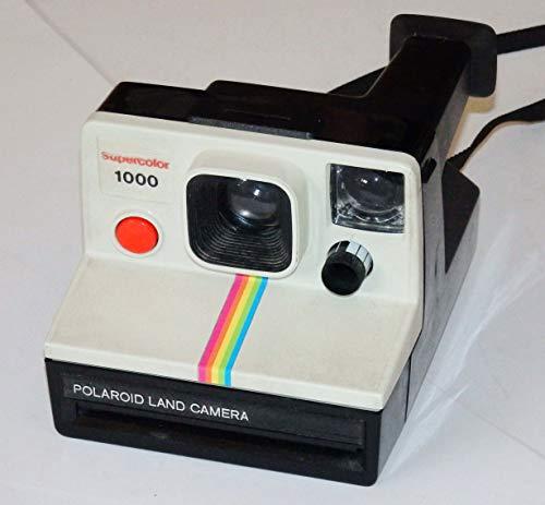 Sofortbildkamera - POLAROID LAND CAMERA Supercolor 1000 - wie POLAROID LAND 1000 ## FOR SX-70 FILME ## Technik ok - funktioniert - Sammlerstück by LLL ###