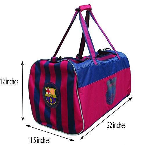 HKY Sportswear FC Barcelona Mehrzweck-Reisetasche, Marineblau/rot, Einheitsgröße - Importierte Designer-taschen