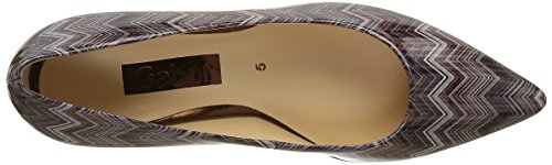 Gabor Fashion, Escarpins Femme Multicolore (Dark/Nude 94)