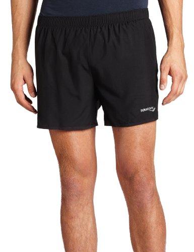 Saucony Herren Performance Running Short Größe L Schwarz (Saucony-shorts)