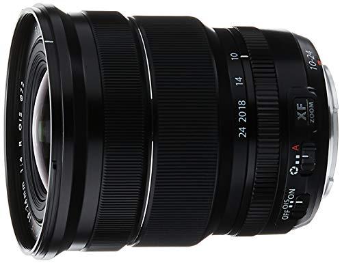 Fujifilm Fujinon XF 10-24mm F/4-22 OIS R - Objetivo (distancia focal 10-24 mm, estabilizador de imagen) negro