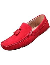 Reservoir Shoes - Mocassin Walter Moccassin Rouge