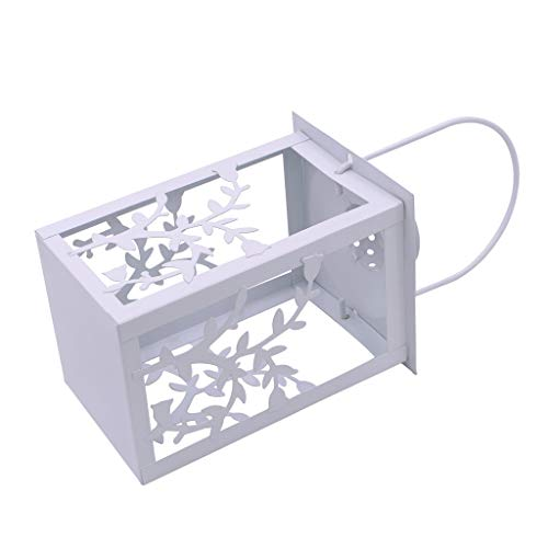Eisen Outdoor-hängenden Laterne (Altsommer 20 LED Gebürstet Vintage Light Fairy Light Hängende Laterne für Indoor Outdoor Decor)