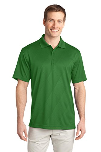 Port Authority K548 Tech geprägt Polo Juniper Green