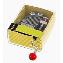 Carillon / meccanismo musicale a manovella di cartone ondulato - Non, je ne regrette rien (Edith Piaf)