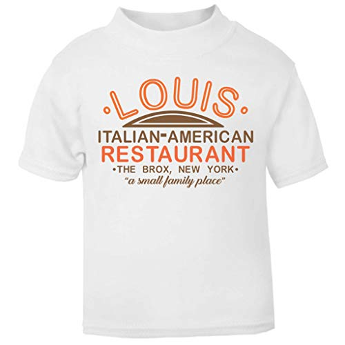 Kostüm Bronx - Louis Restaurant The Godfather Baby and Toddler Short Sleeve T-Shirt