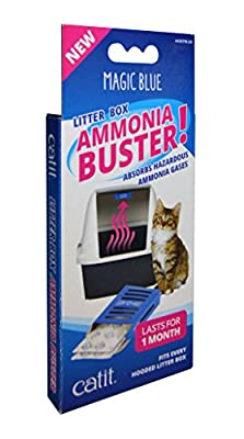 Catit Magic Blue Ammonia Buster - Reduces Urine Odour and Smells for a Fresh Cat Litter Box