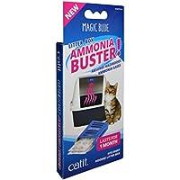 Catit Magic Blue Ammonia Buster - Reduce el Olor a orina y los olores para una Caja de Arena Fresca para Gatos